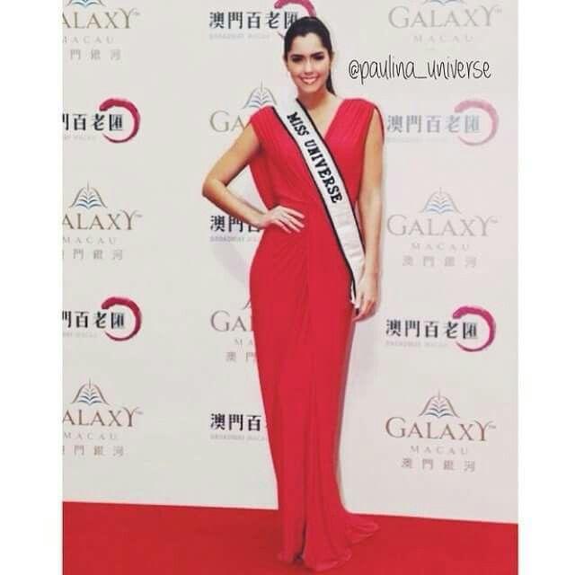Paulina Vega, en China