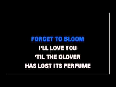 karaoke the twelfth of never - YouTube
