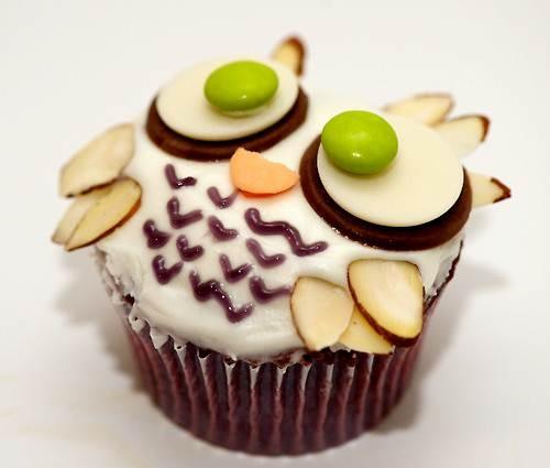 #owl cupcakes #owl crafts