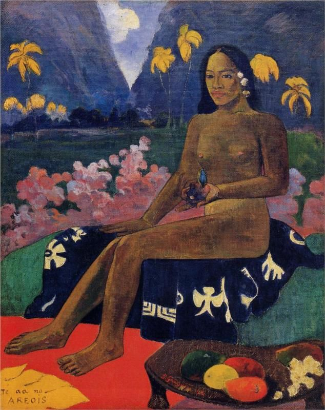 (The Seed of the Areoi, 1892. Paul Gauguin http://www.wikipaintings.org/en/paul-gauguin/in-the-forest-saint-cloud-1873