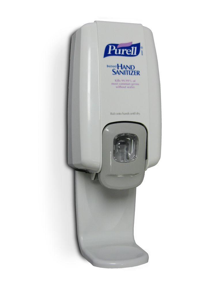 purell hand sanitizer dispenser instructions
