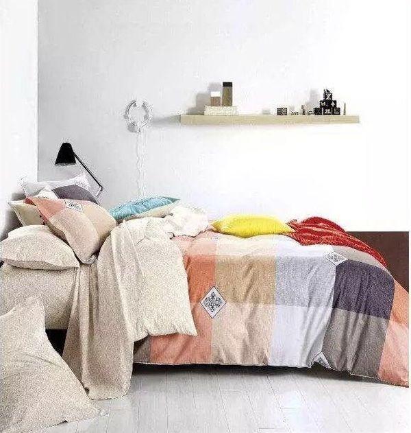 Obojstranné posteľné obliečky s farebným vzorom