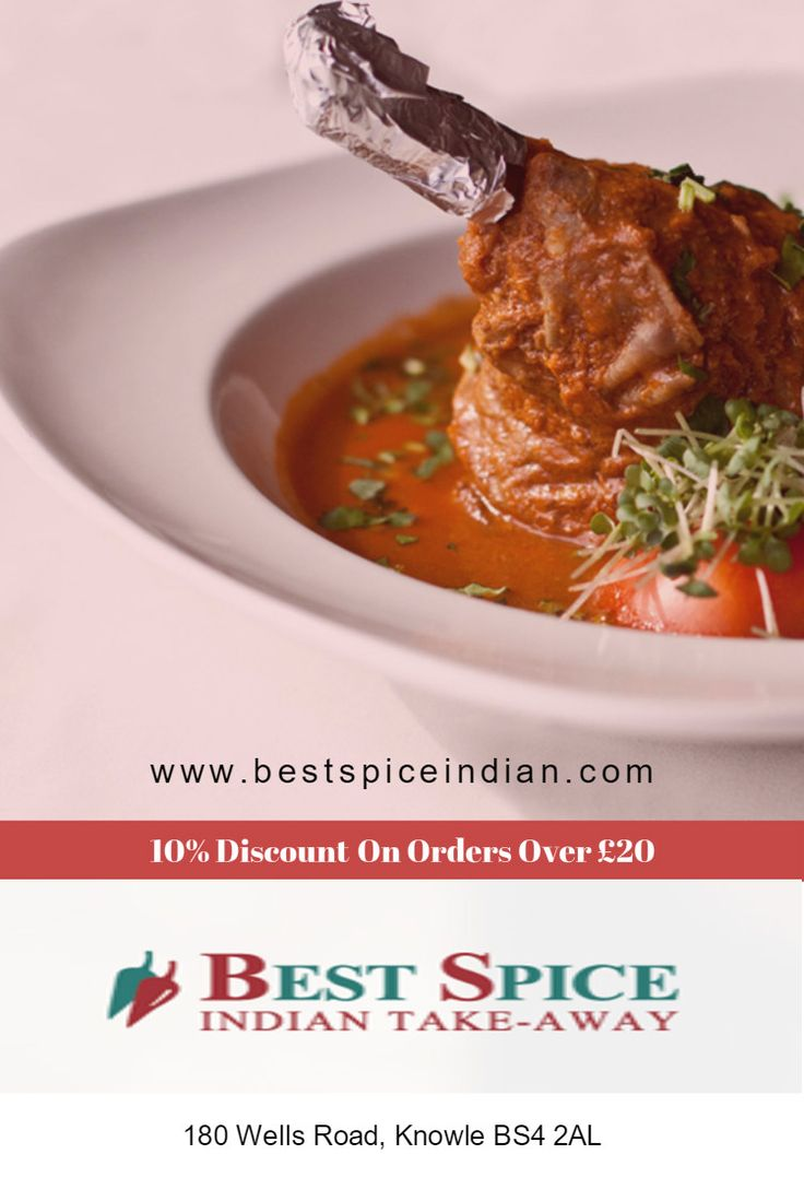 Order Indian takeaway food online at Best Spice, Wells Road, BS4 near Brislington, Avon, Knowle, Totterdown.  10% Discount offers on orders over £20  (Delivery Only)
