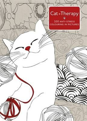 Fishpond Australia Cat Therapy A Mindful Colouring Book For Adults By Charlotte Segond Rabilloud Buy Books Online