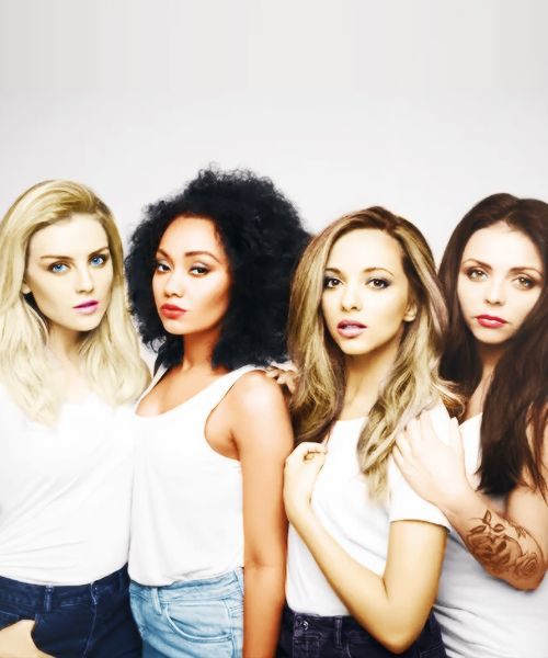 Leigh, Perrie, Jesy and Jade!