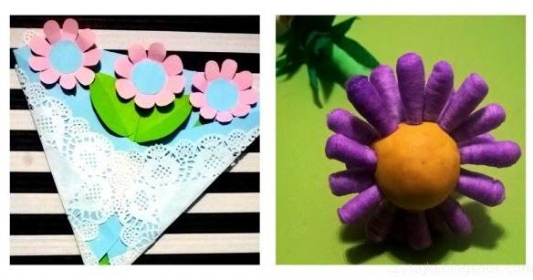 DIY spring ideas, flowers, gift for Mothers Day
