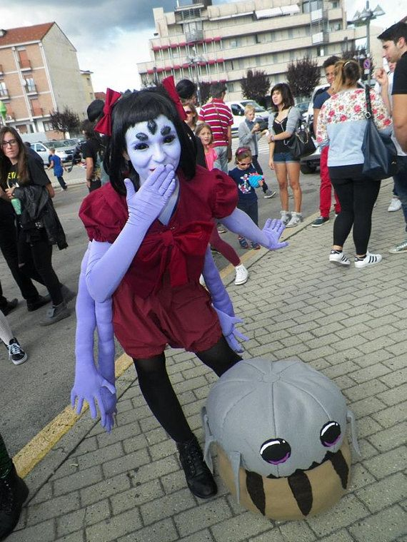 Muffet Undertale Costume Cosplay Spider Cute di BananaRhapsody