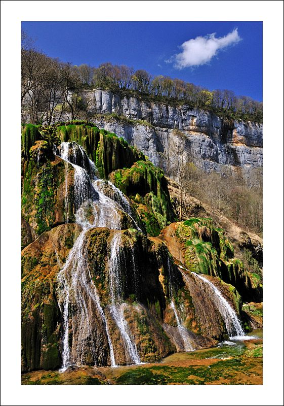 Waterfall, Baume-les-Messieurs, France Copyright: Nikki Francis