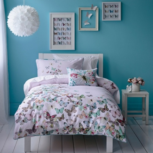 75 best butterfly decor images on pinterest butterflies for Butterfly bedroom ideas