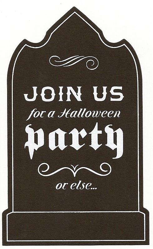 free halloween clip art invitations - photo #19