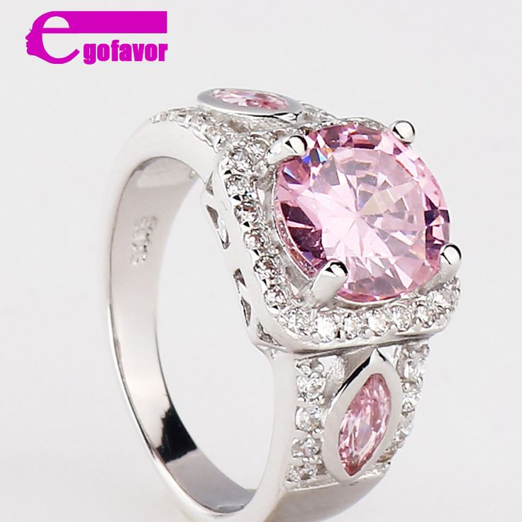 of ring com rings product sapphire qvc stone cttw band page colors pink sterling