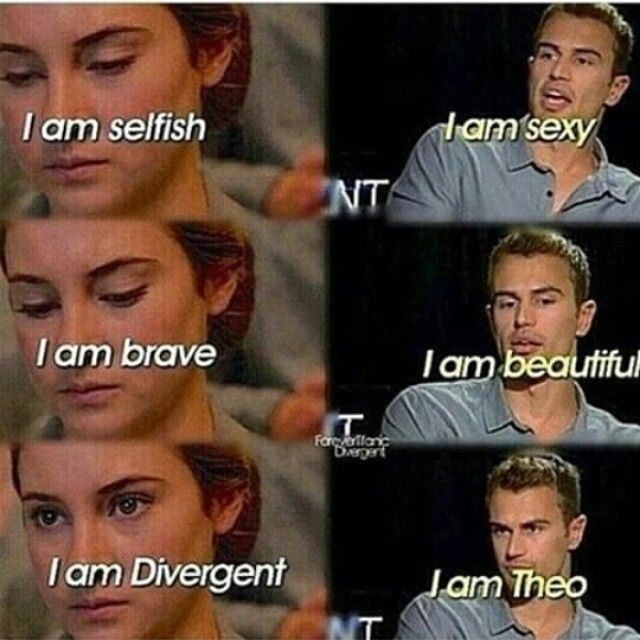Preach it *I love you Theo James*