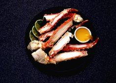 Cook frozen crab legs in the oven without thawing!!! Yummy recipe with garlic, fresh lemons, and beer...