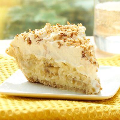 Salted Caramel Banana Cream Pie Food Network