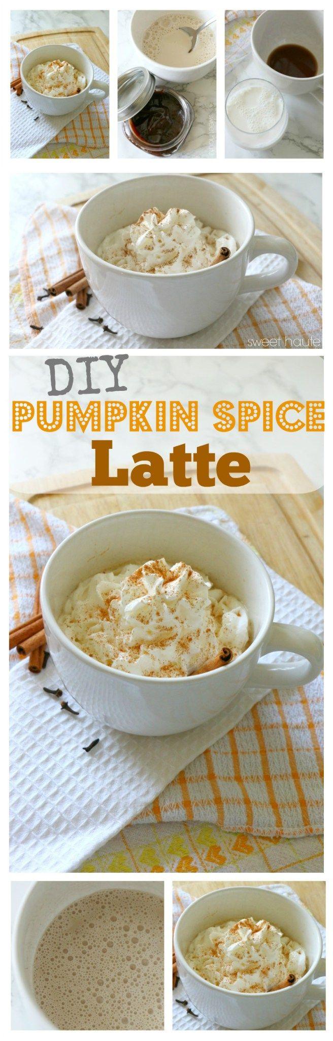 Homemade Pumpkin Spice Latte Recipe Tutorial