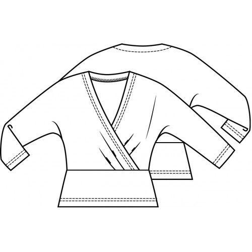 Top (PDF pattern) | Knipmode