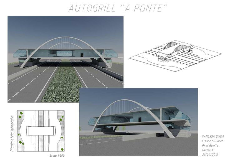 progetto autogrill VC 2015