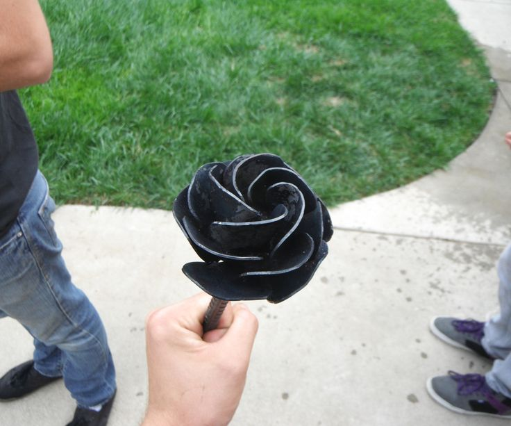 First thing you want to do when making a metal rose is make sure you have everything you will need to complete the project. The materials needed for this projec...