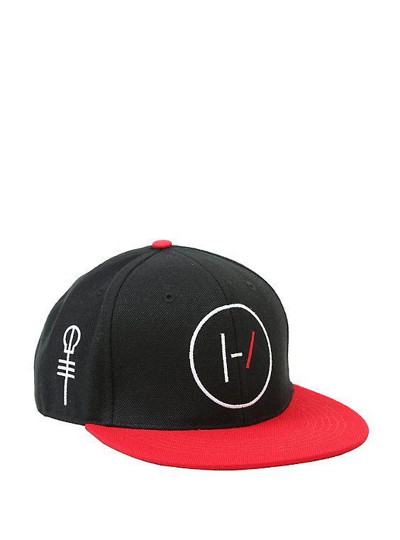 Twenty One Pilots Logo & Skeleton Clique Key Snapback Hat,