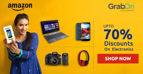Time To Upgrade Your Smartphones, TVs & More. Amazon Offers Upto 70% OFF On #Electronics