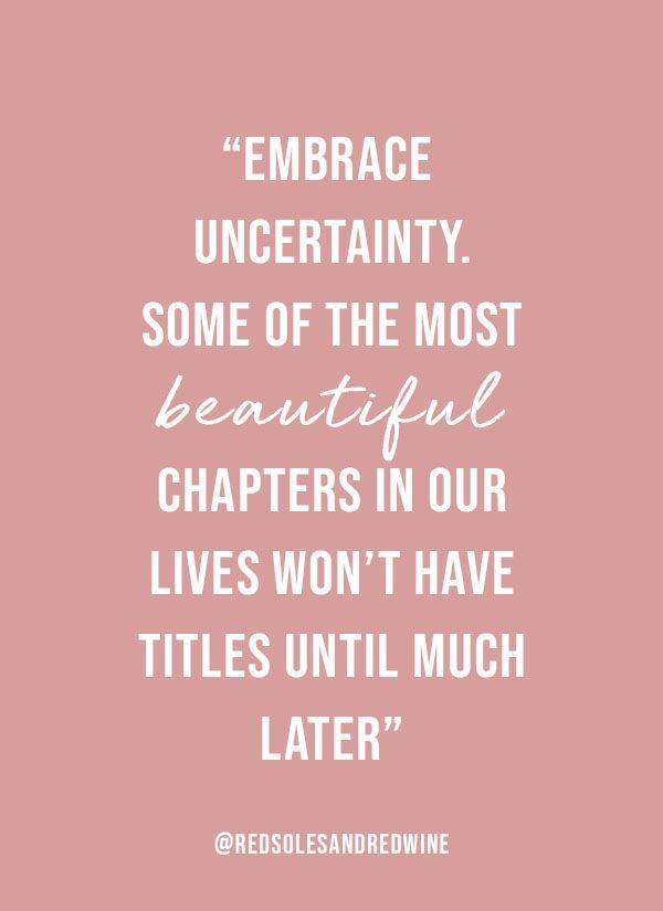 Embracing Change in Pink | Embrace change quotes, Change ...