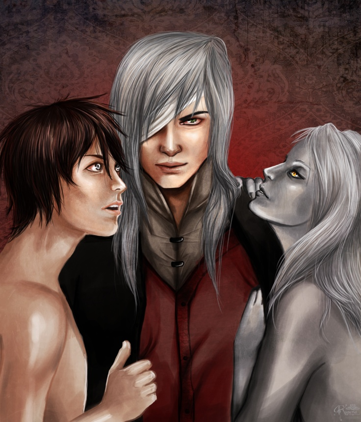 Names: Belial, Donn and Argyros; Book: Trails of Love I Crawl trilogy (Parts 1&2 available)