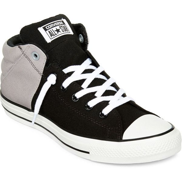 Converse Chuck Taylor All Star Axel Mens Mid Sneakers ($55) ❤ liked on Polyvore