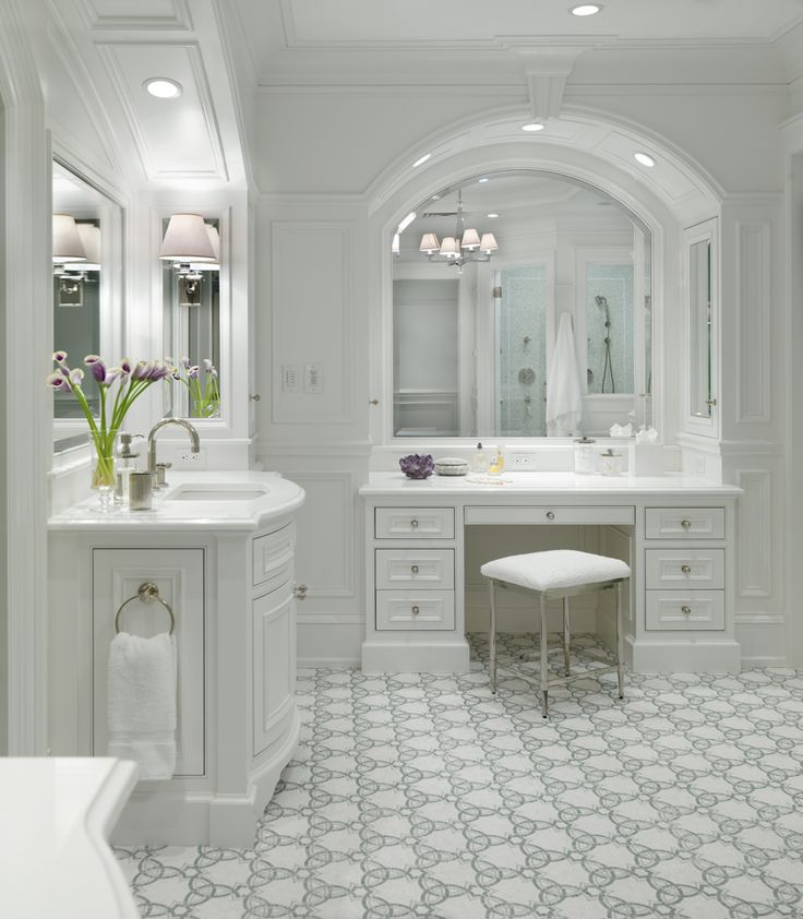 georgianadesign:    Master bath by Jay Gleysteen Architects.