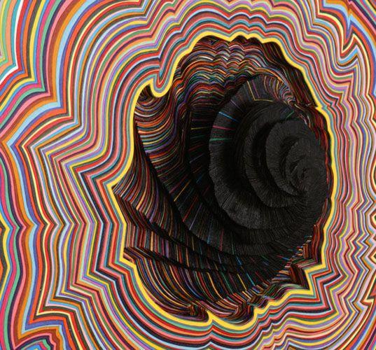 Oltre Fantastiche Idee Su Jen Stark Su Pinterest Sculture Di - Mesmerising hand crafted paper sculptures jen stark