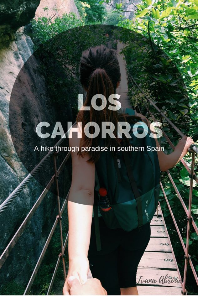 Los Cahorros: A hike through paradise in southern Spain.  You don't want to miss this beautiful part of the Sierra Nevada mountain range in Granada.