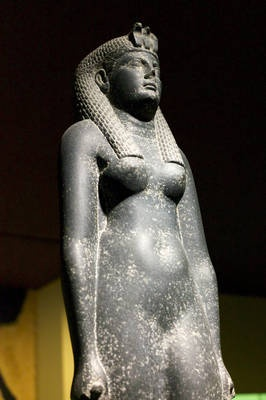 The famous Cleopatra (Cleopatra VII) was queen of Egypt during the final years of the Roman Republic. Not only was she alive during the Republic's close, but she was the final ruling pharaoh of Egypt. Rome, under the man who would become the first Roman emperor, Octavian, later Augustus, took control of Egypt when Cleopatra died.