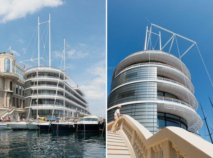 norman foster + partners yacht club de monaco designboom