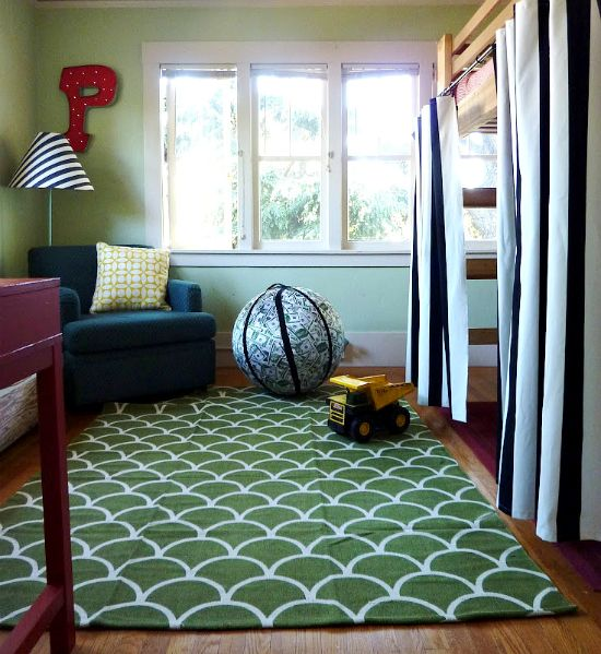 IHeart Organizing: Reader Space: A Bright Boy's Bedroom Remix
