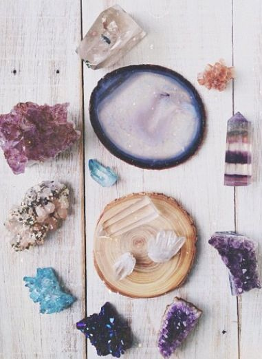 crystals #planetblue
