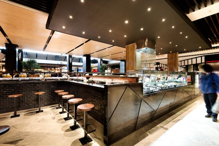 Tokyo Sushi by Mima Design, Sydney   Australia fast food