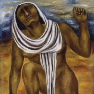 María Izquierdo. La tierra.