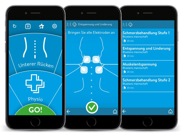 Bluetens - Smart TENS/EMS Smart is intelligent - is Bluetens  All in all, 150 programs for different application scenarios and body areas are available from the get go. The Bluetens app lets you select these on two clear rotary selectors, similar to a parking disc.   Your ideal program is just a few clicks away.   The Bluetens app comes loaded with all these 150 original programs and is regularly updated and expanded with new features.   Share it One Bluetens device can be used by your ...
