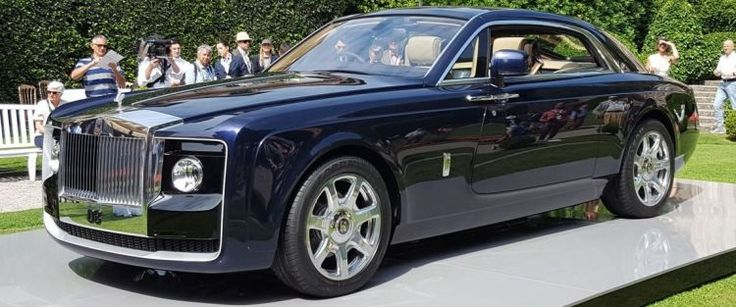 Rolls-Royce Sweptail - Most Expensive Car Worldwide