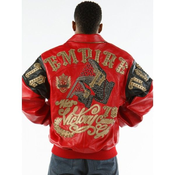 EMPIRE - CABERNET PLUSH - Leather Jackets - Mens