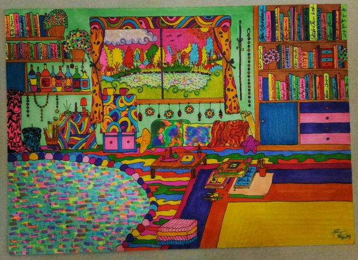 Rossella Inghilleri Psychedelic room