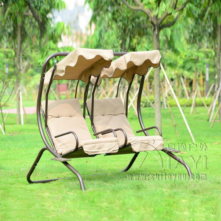 Любовь мест прочный Утюг садовые качели кресло-гамак мебель слинг Обложка Bench хаки