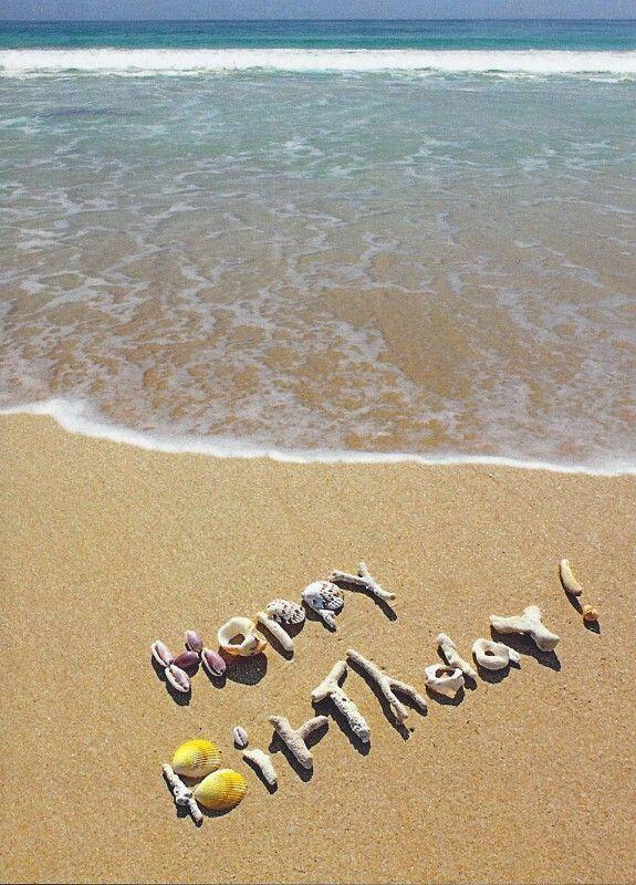Beach birthday!