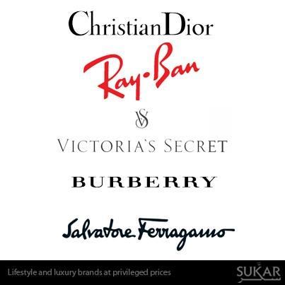 Ray-Ban, Christian Dior, Burberry online now at Sukar.com