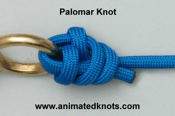 Tutorial on Palomar Knot Tying