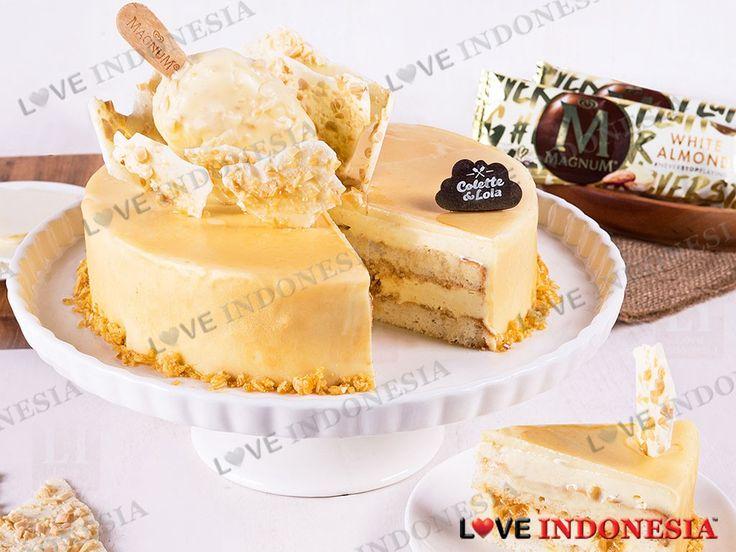 Untuk terus memanjakan pelanggan setianya, Colette & Lola tidak pernah berhenti untuk berinovasi dalam membuat kue-kue terbaik. Belum lama ini, Colette & Lola berkolaborasi dengan Magnum Ice Cream dalam menawarkan kreasi kue cantik yang dinamakan Magnum White Almond Cake.