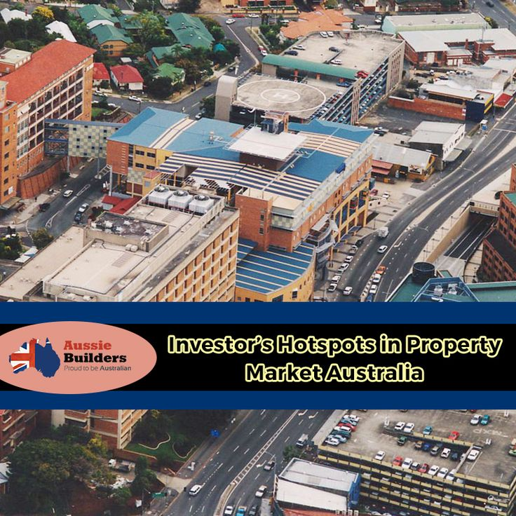Here are investor's hotspots in property market Australia... Have an overview...