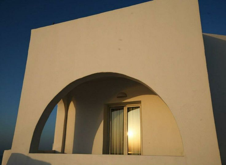 Cycladic architecture with traditional round shapes!!!