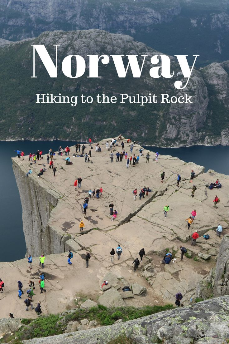Hiking to the Pulpit Rock in Norway is not too challenging and you will see some amazing scenery so I highly recommend it! Would you dare to sit at the edge of Preikestolen? I did!