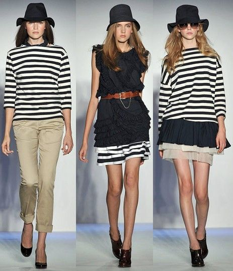 Tips to wear stripped clothes