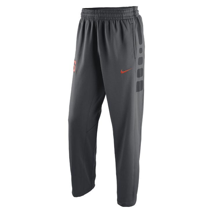 Nike Elite Stripe (Syracuse) Men's Basketball Pants Size Large - Clearance Sale